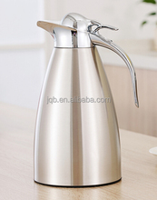 Double wall vacuum thermos jug/coffee pot