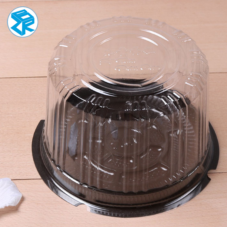 Hot Selling Birthday Cake Container Disposable Large Plastic Cake Domes