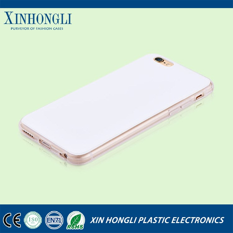 UV printing blank case ,matt pc+clear tpu edge uv printing case for iphone 5 5s 6 6s 6plus