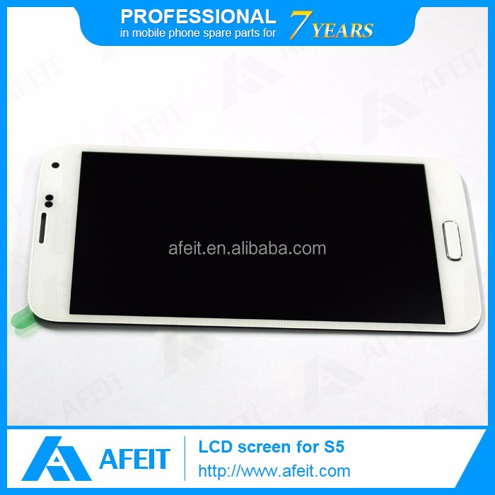 Wholesale touch screen digitizer replacement parts display assembly original lcd for samsung galaxy S5