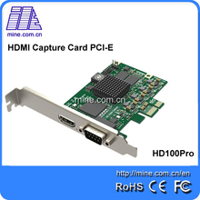 China manufacturer elgato game capture for HD game to PCI-E 2.0 / 1.0