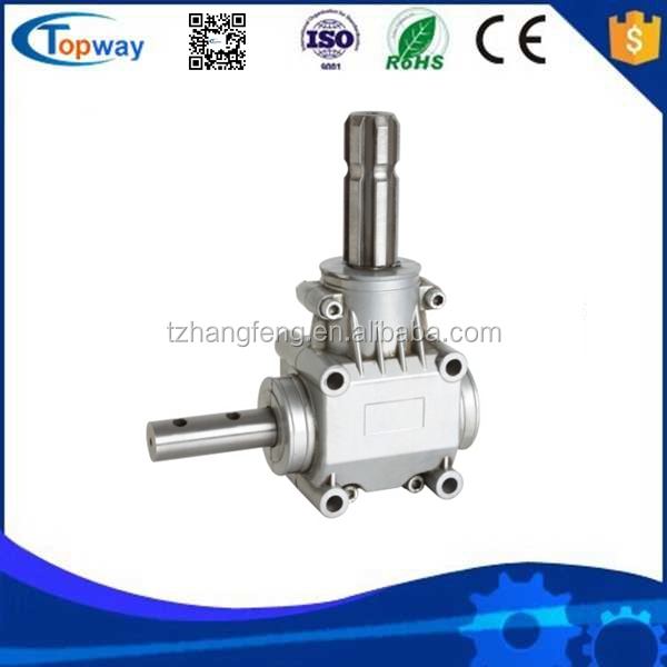 90 Degree Hollow Shaft Gear Box Power Transmission Right Angle Gearbox