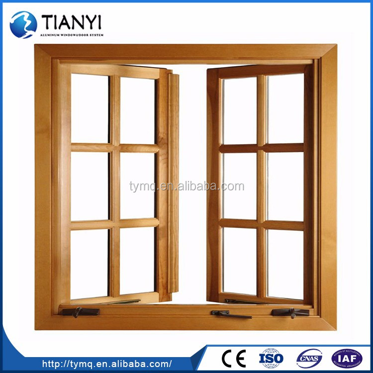 New Style Cheap Popular Wooden Sash Windows