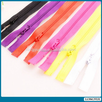 OEM nylon zippers with oem order accepted reasonable price coil teeth nylon zip