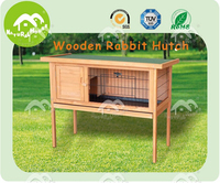 promoion! cheap and top selling wood rabbit cage for sale
