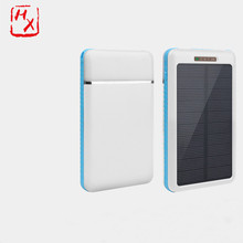 Factory supply attractive price portable solar power bank 8000mah for smartphone