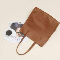 2016 Cheap Custom Ladies Shopping Bags PU Leather Women Shoulder Bags Purses