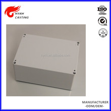 Custom cheap price different types of aluminum casting wah wah enclosure 85*85mm
