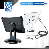 Aidata Rotating Tablet Stand for iPad Lock