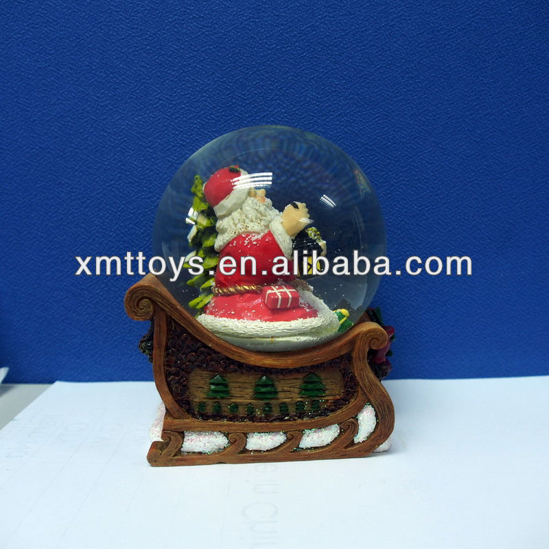 2014 Fashion new design pretty resin crafts best selling merry christmas product