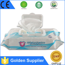 Chinese Famous Brand High Quality Medical Sterile Saline Wipe