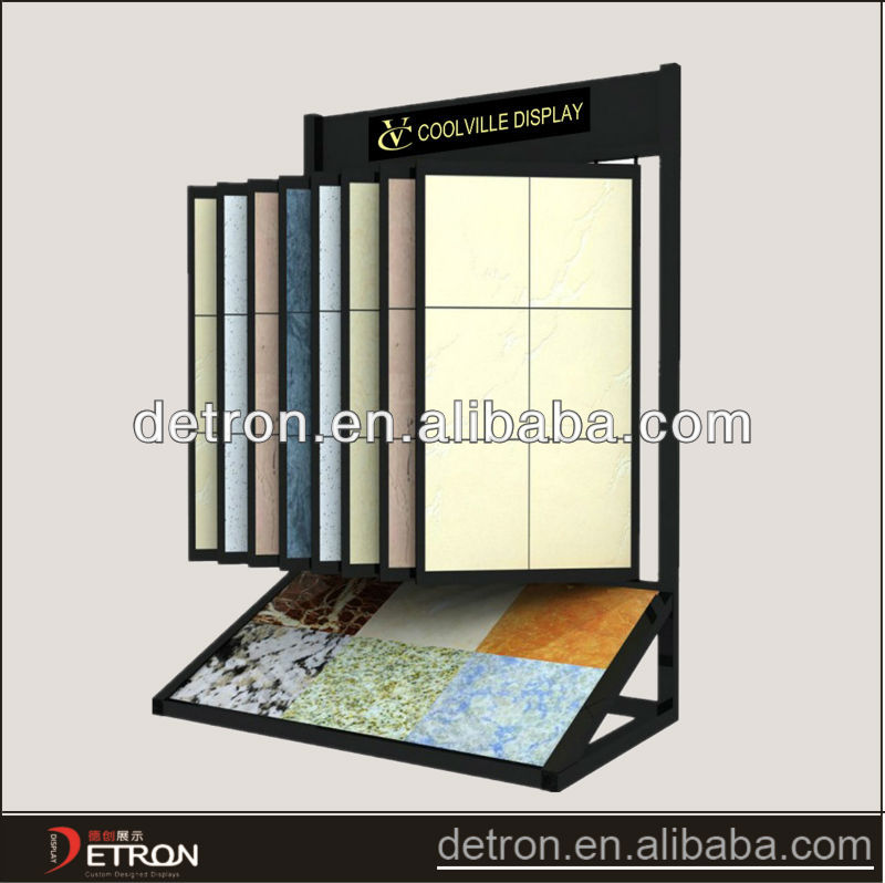 Floor standing display stands for tiles BW-2018