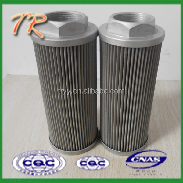 Rigid quality control stainless steel mesh WU-40X60J oil filter element
