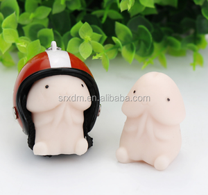 Making cute penis keychain toys/OEM plastic penis key chain/ Customed funny keychain factory