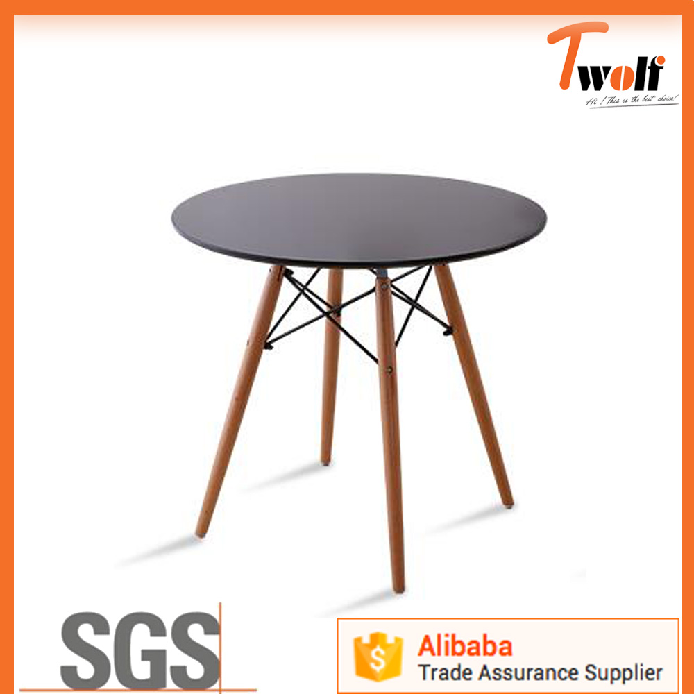 round plastic table and chairs/ drawing table / cafe table chair set TC610