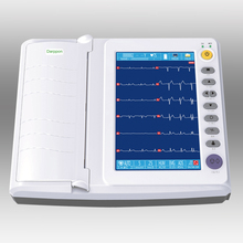 ECG-8122 Top quality lowest price Electrocardiograph machine / 12 lead 12 channel ECG equipment first aid monitoring device