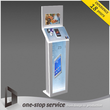Fashion mobile retail shop fitting furniture design for mobile shop