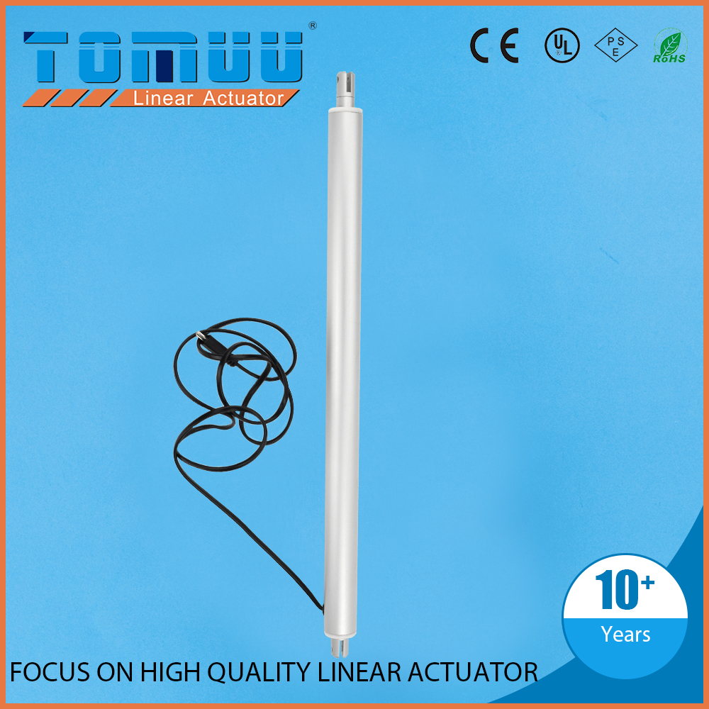 TOMUU customization supported 12v 24v tubular linear motor for window