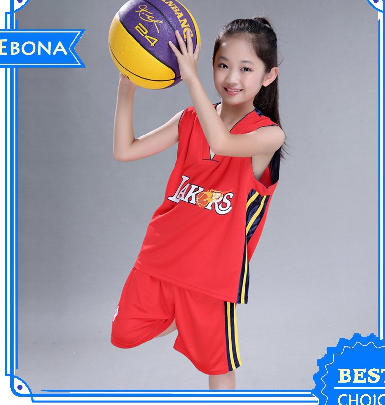 children basketball suit latest basketball jersey design 2016 Child basketball wear
