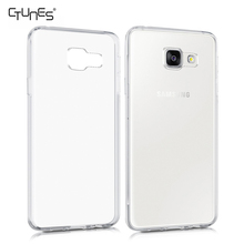 For Galaxy A3 2016 Cover,Clear Transparent Crystal Soft TPU Gel Skin Back Cover Case For Samsung Galaxy A3 A310F / A310M 2016