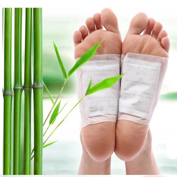 Hot Selling ! Chinese Herbal Personal Bamboo Vinegar Health Broadcast Detox Foot Patches /Pads Feet Care