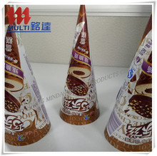 metallic polyester pet film/popsicle packaging aluminum foil bag/ice cream packing film