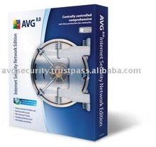AVG Internet Security Network Edition software 170 Computers 2 Years