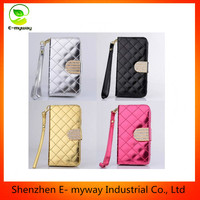 Luxury PU Leather Wallet Flip Magnet Stand Case Cover For Mobile Phone
