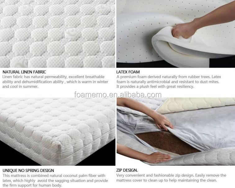 ls6300 popular orthopedic latex mattress latex foam mattress