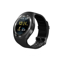 Touch screen smart watch with sim card mtk 2502 smart watch phone watch type mobile phone