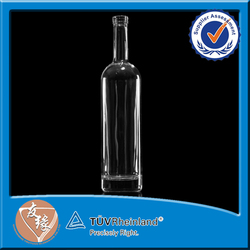 High Quality 750ML Glass Wine Bottles Wholesale Round 750ML Glass Gin Bottle