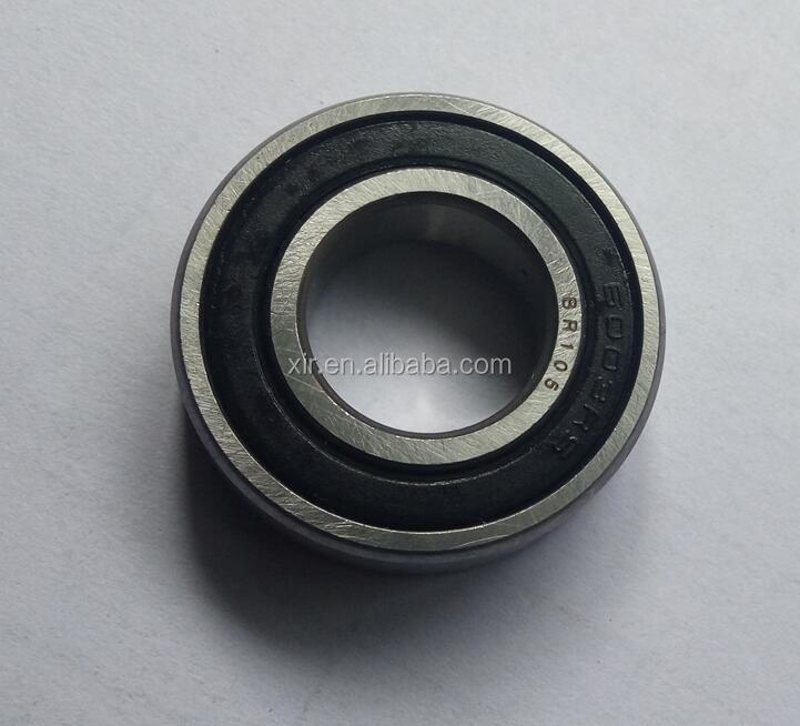 Deep groove ball bearing 6003-2RS chrome steel bearing ABEC-1