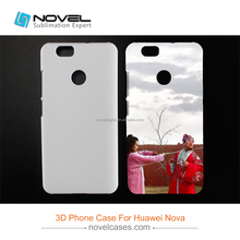 2017 Newest 3D Sublimation Case For Huawei Nova,Blank Phone Cover
