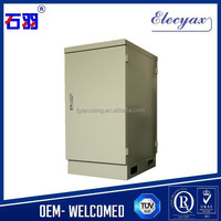 Waterproof outdoor cabinet SK-253/22U air conditioning cooling enclosure with Ce Rosh and IP55 protection