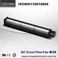 DC Cross Flow Fan 12V 24