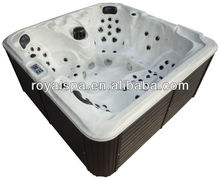 hydrotherapy 5 persons acrylic home outdoor spa whirlpool