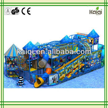 Updated newest indoor playground equipment---Oean castle playground