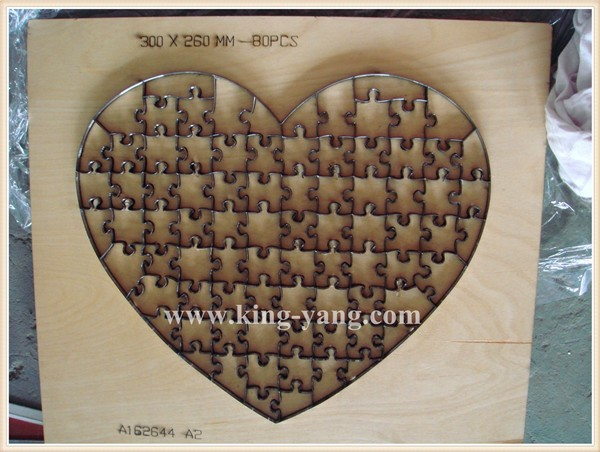 Jigsaw puzzle die cutter Circle 23x23cm-100pcs Unique design