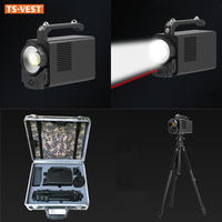 Security Emergency Rescue Equipment Light Weight Super Brightness Search And Rescue Military Emergency Searchlight
