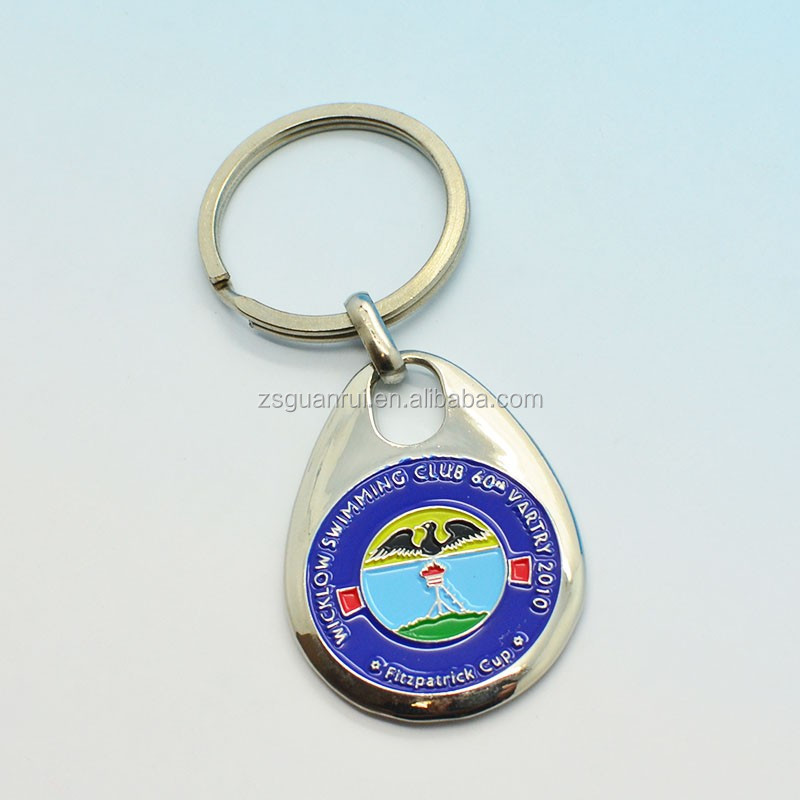 Newest style metal motorcycle shape keychain