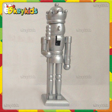 2016 wholesale wooden christmas nutcracker soldier,best sale wooden christmas nutcracker soldier W02A074B