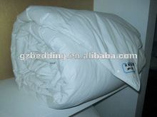 king size hotel quilt hotel duvet filling with micro fiber , high quality comforter with 100% cotton fabric