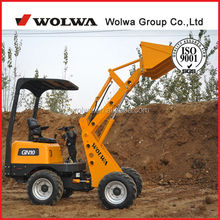 CE certificated Wolwa GN10 high performance 1t mini front loader