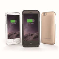 New 3200mAh Battery Charger Case For iPhone 6 with factory outlet power bank charger
