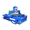 Mini 4 Axis Cnc Engraving Machine 1325 with Rotary Axis Wood Cnc Router Vertical on Soft Metal