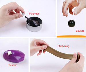 New Arrival Anti-Anxiety Toys Crazy Aaron Thinking Putty Non Sticky Magnetic