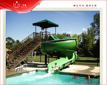 pool water spiral slide adult for summer kids play