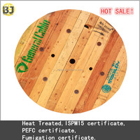 ISPM 15 Fumigated empty wooden cable reel drum, cable spool for sale Dia 1600x700x800mm