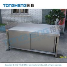 Factory Wholesale Stainless Steel Wall Cupboard With Sliding Doors