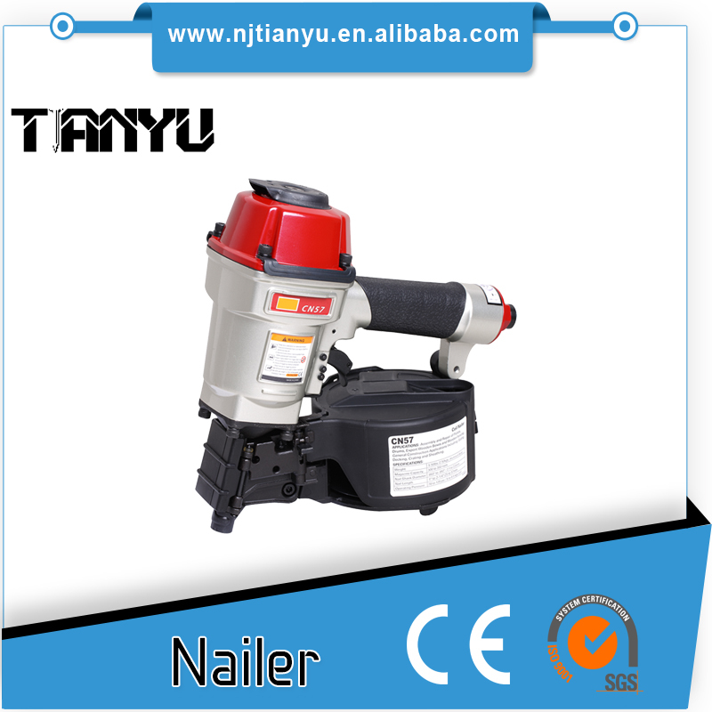 CN57 pneumatic tools Air Coil Nail Gun